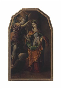 santa nimpha by juan rodríguez juárez