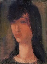 portrait of a woman by isaac j. naarden