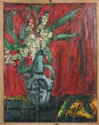 bouquet de fleurs (oeuvre de jeunesse) by paul ackermann