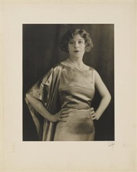 portrait of fanny brice by strauss-peyton
