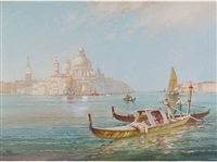 san giorgio maggiore from the lagoon, venice by william knox