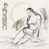 关中少女 (girl) by xue linxing