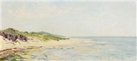 the dunes of bergen by johannes graadt van roggen