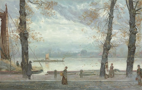 cheyne walk london by cecil gordon lawson