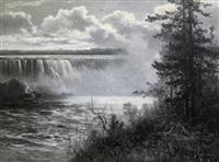 niagara falls by constant auguste de l' aubiniere