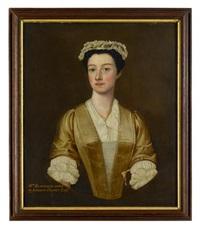 andrew hacket, esq. (+ sister, mrs. blowfield; pair) by scottish school (19)