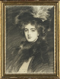 portrait of marjorie eden, lady brooke, later countess of warwick by john singer sargent