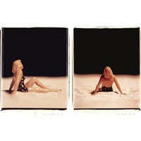 untitled (from american beauties; 2 works) by david levinthal