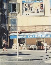 bar du peuple, marseille (poster) by pierre huyghe
