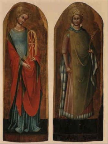 st catherine of alexandria by lorenzo veneziano