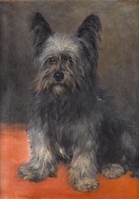 a skye terrier by camille bach