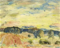 evening sky by william george gillies