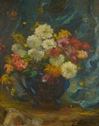 bouquet de dahlias by jacques martin