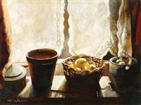 still life with lemons by sarit gura