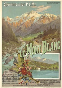 frederic le mont blanc by frederic hugo d' alesi