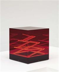 cubo di teo - struttura evoluzione ritmo zig zag table lamp by james rivière