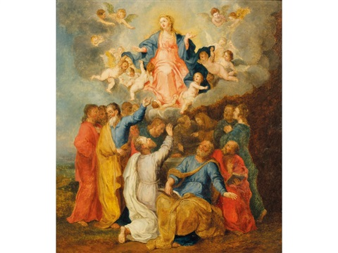 the assumption by frans francken the younger