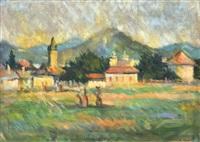 view of nagybánya by andrás mikola