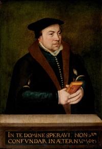 portrait d'homme tenant un livre d'heures by ambrosius benson