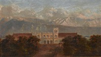 a pair of argentinian landscapes by adolf methfessel