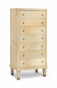 semainier chest by jacques adnet