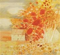 fettercairn landscape by robert henderson blyth