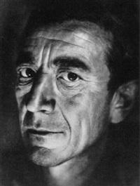 portrait eines mannes by erna lendvai-dircksen