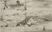 memorie istoriografiche delli regni della morea, e negroponte e luoghi adiacenti (bk w/17 works) by vincenzo maria coronelli