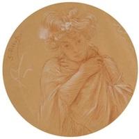 la frileuse ou la pudeur by edouard-marie-guillaume dubufe