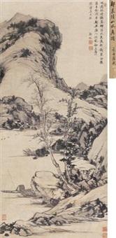 秋江泛舟 by zheng min