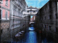 bridge of sighs, venice by rugero valdini