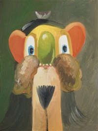 frontal + reversal by george condo