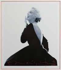 marilyn pour vogue, the last sitting by bert stern