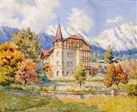 villa huber in mühlau by gotthart an der laan
