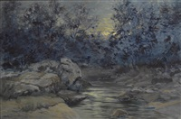 nightfall by charles partridge adams