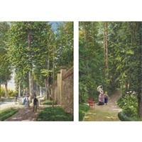 scena nel parco (+ another, lrgr; pair) by antonio bignoli