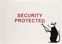 security protected by banksy
