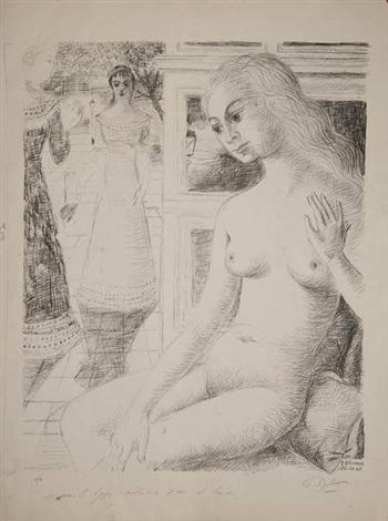 femmes by paul delvaux