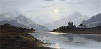 a highland loch by charles leslie