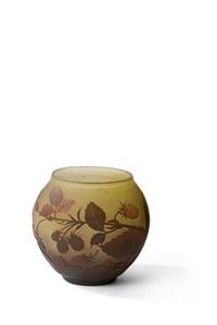 vase by arsall (vereinigte lausitzer glaswerke)