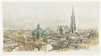 vienna cityscape by luigi kasimir