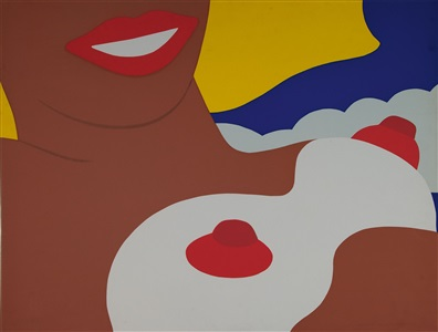 artwork by tom wesselmann