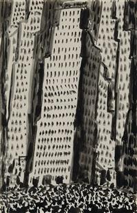 new york city by abraham walkowitz