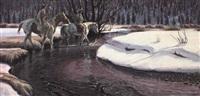 on chief joseph creek by larry zabel