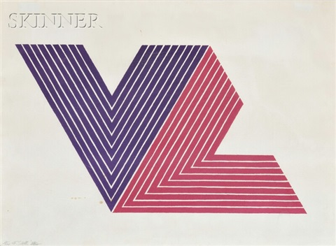 ifafa i from the v series by frank stella