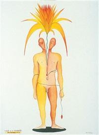 portrait of an evangalist cuckoonebulopol by surendran nair