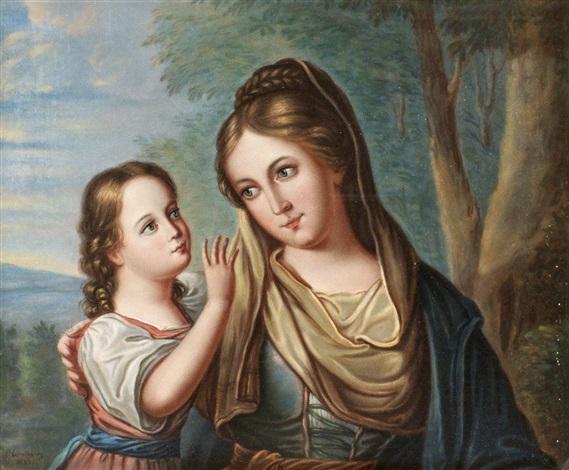 mor och barn by per lindhberg