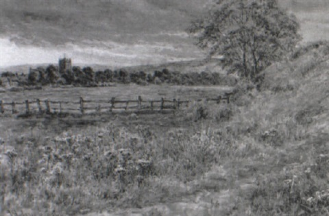 the edge of the common, allendale by john hodgson campbell