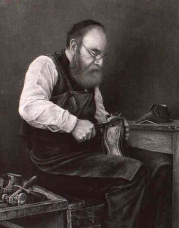 a jewish cobbler by jos graumann