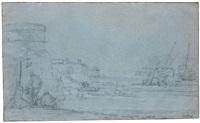 The Dutch fleet at sea